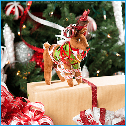 Cute Ideas for Scout Elves and Elf Pets Reindeer