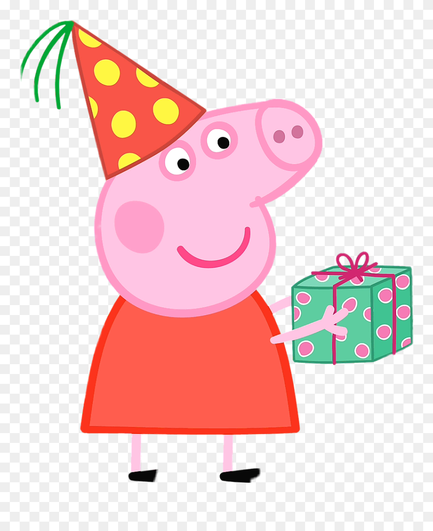 Download Hd Ftestickers Peppapig Peppa Peppa Pig Peppapigmeme Peppa Pig Birthday Png Clip Convites De Aniversario Da Peppa Pig Porquinha Peppa Peppa Pig