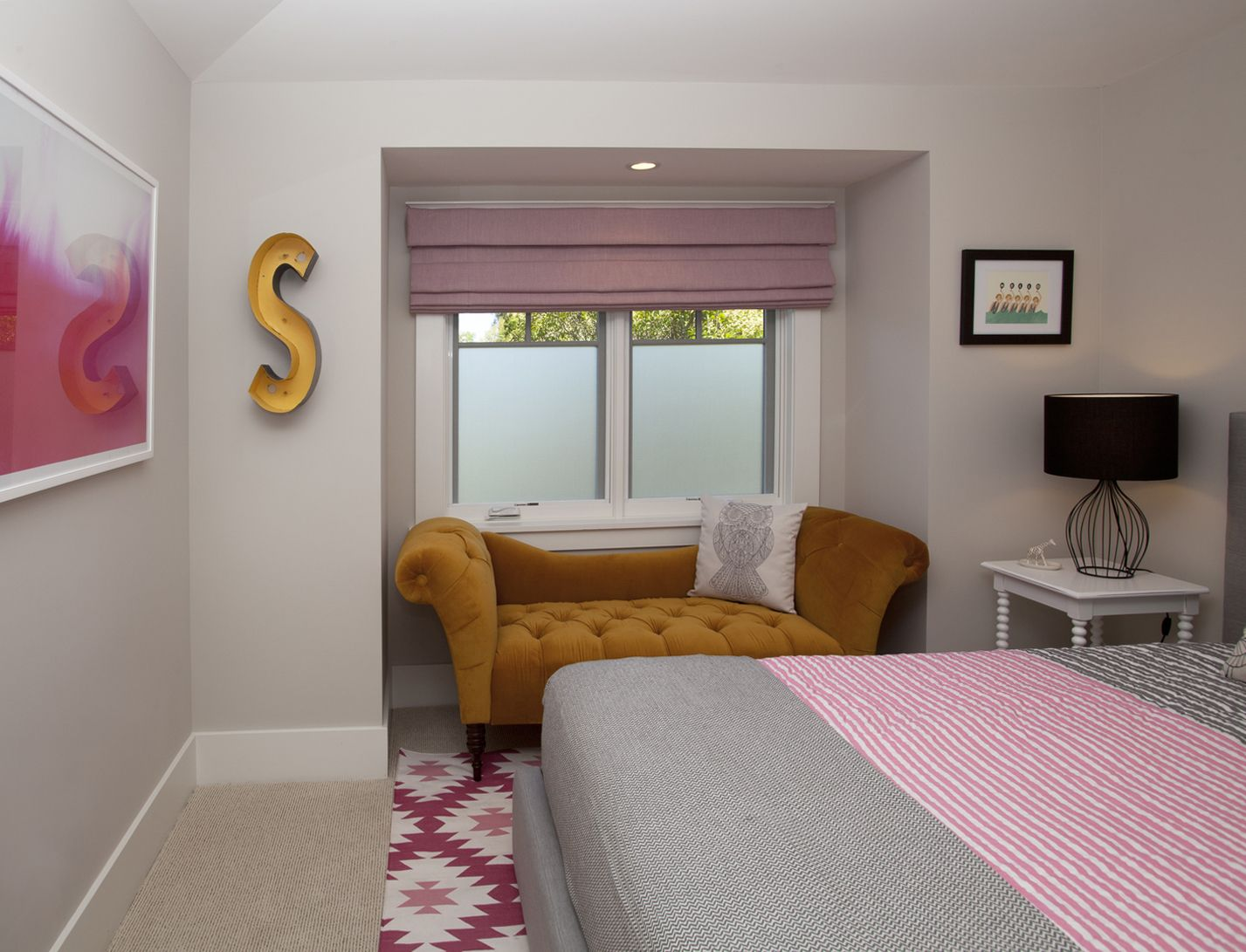 Toys Grown Up Bedroom : A pink bedroom for year old girl with grown up feel