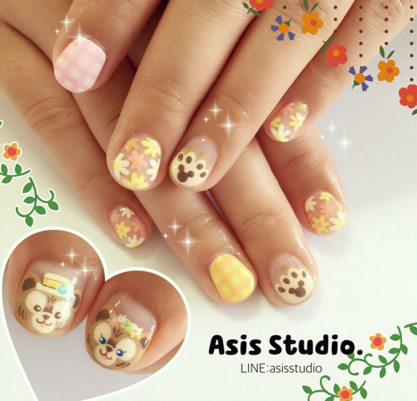 Duffy inspired nails @asisstudio | Just Nail it | Pinterest