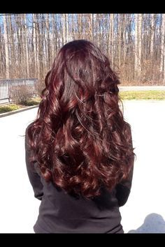 Dark Chocolate Cherry Hair Google Search