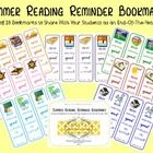 $ This is a set of 28 bookmarks reminding students to read everyday.  There are 7 pages of bookmarks ~ each page a different color.  On each page, ...