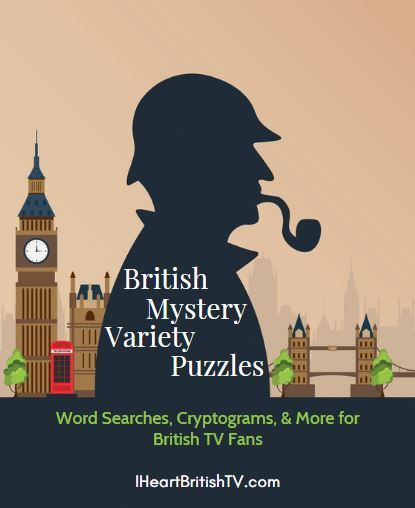 British Mystery Variety Puzzle Book