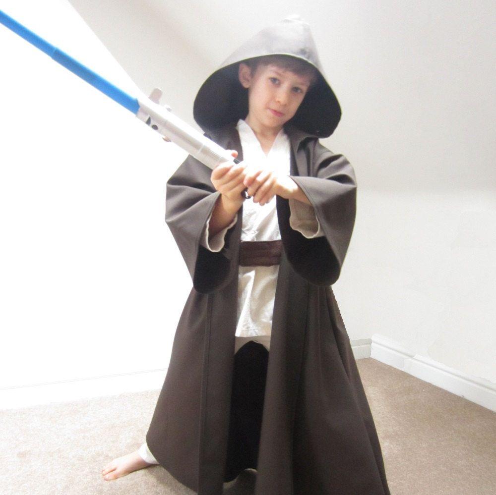 Jedi Robe Star Wars Cloak Luke Skywalker Costume Sewing Pattern Pdf ...