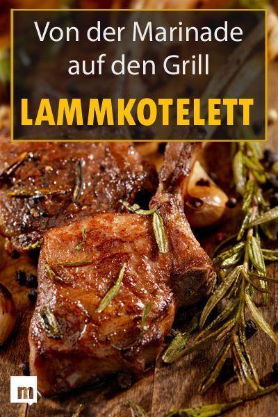Lammkotelett grillen: Von der Marinade auf den Grill