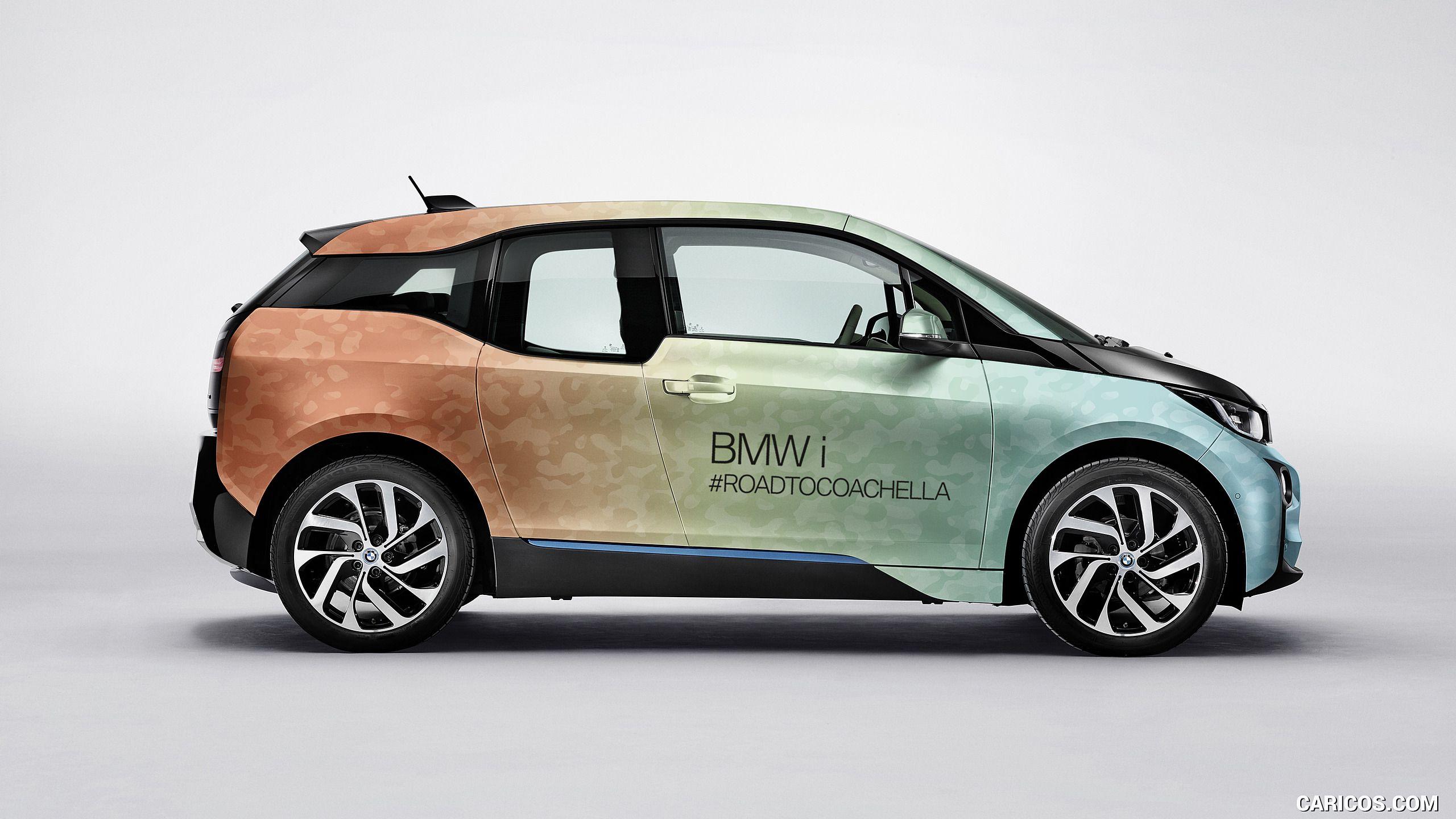 2017 BMW I8 And I3 Coachella Wallpaper