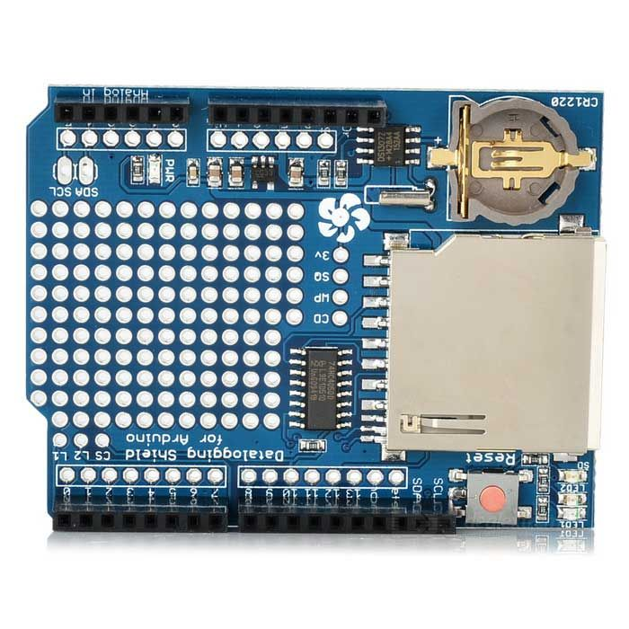 Duinopeak SD Shield Data Record Expansion Board for Arduino (w - time clock spreadsheet