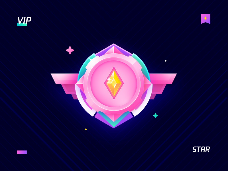 03 Medal Star 等级标 in 2019 Game icon design, Game