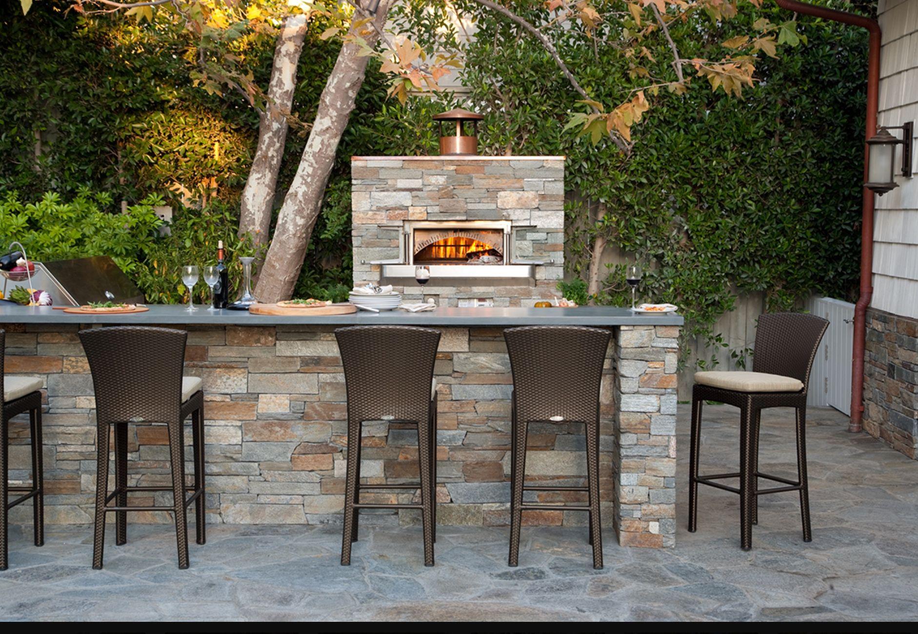 Außenküche Mit Backofen : Woodstone home steinofen für außenküche backofen outdoorküche