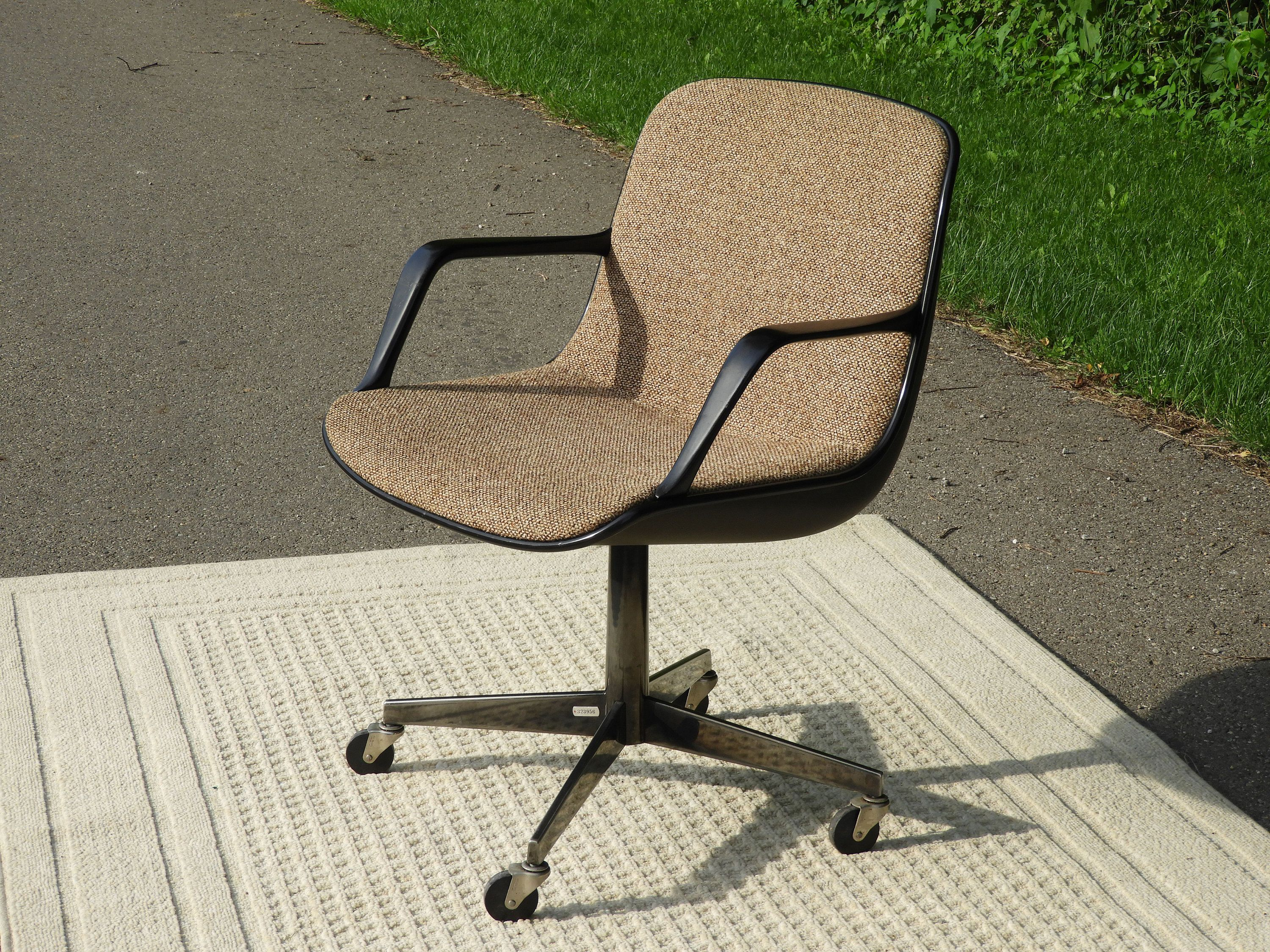 Mid Century Office Chair, Vintage Eames Style Chair