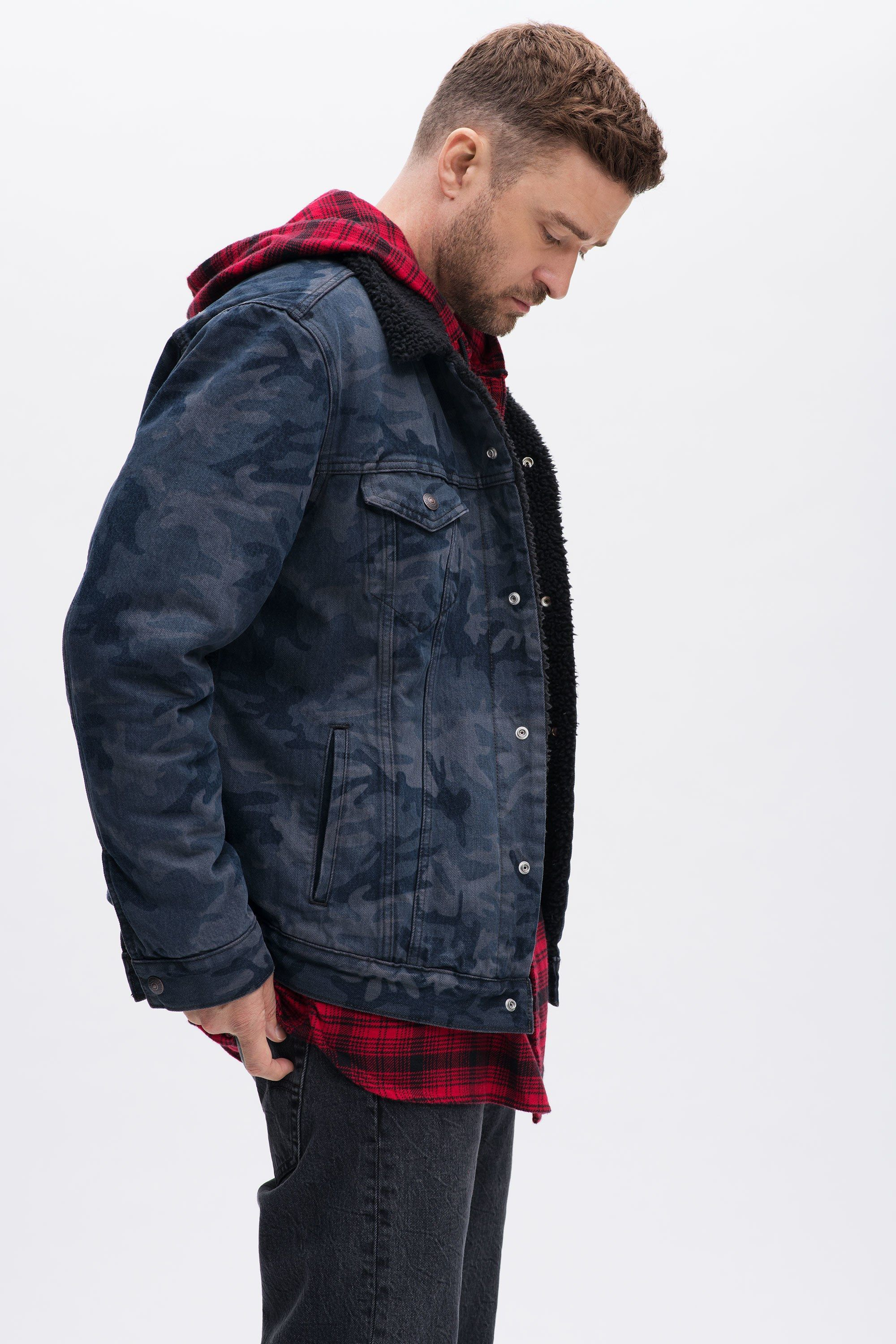 35bd9da9c71  Celebrities  fw2018  fall2018  CasualWear  MensFashion  winter2019   MensCasualWear Justin Timberlake  Debuts  Levi s  Collaboration  Campaign   Collection ...