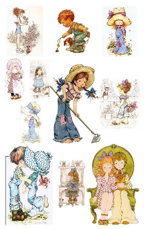 Historias de Dibujos: Sarah Kay un mundo de ternura | Holly Hobby ...