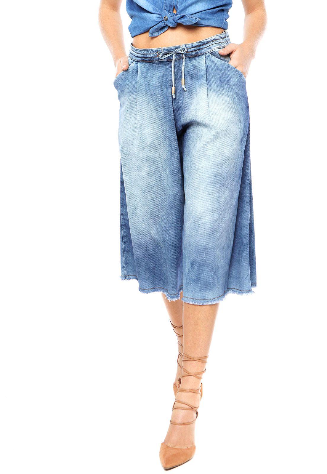 710c3472d Resultado de imagem para calça pantacourt em jeans Macacão Jeans