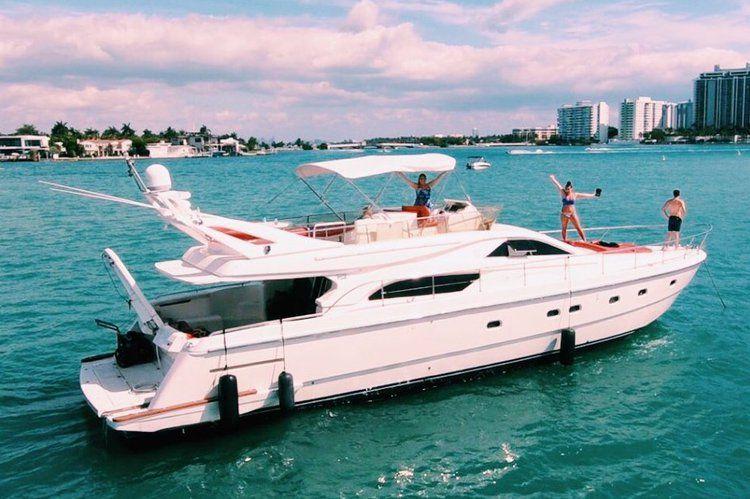 Luxury Motor Boat Rental Miami, FL   Ferretti Mega yacht Sailo 11592   Boat  rental, Yacht design, Motor boats