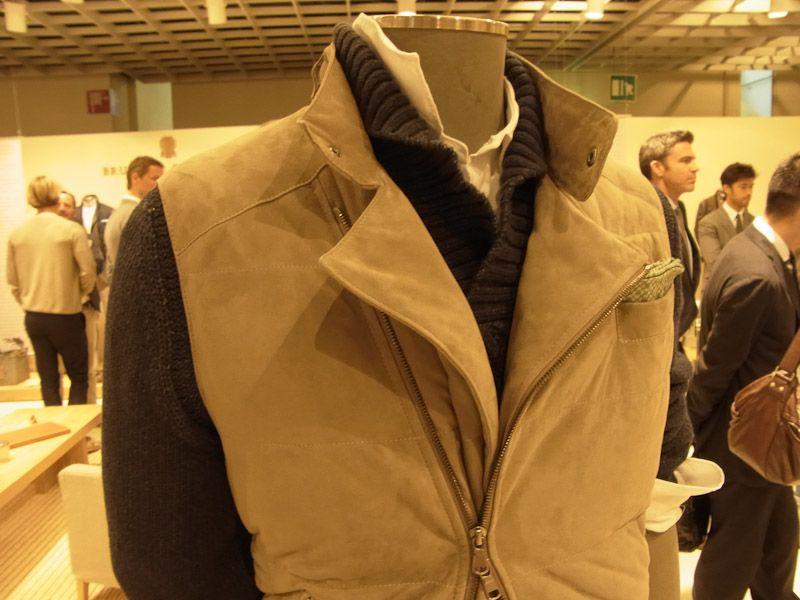 Brunello Cucinelli style  Looks a bit too warm