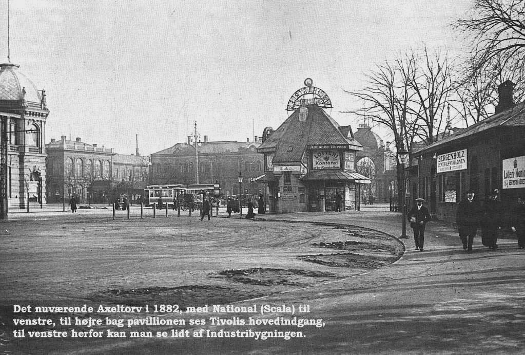 Nuværende Axeltorv 1882