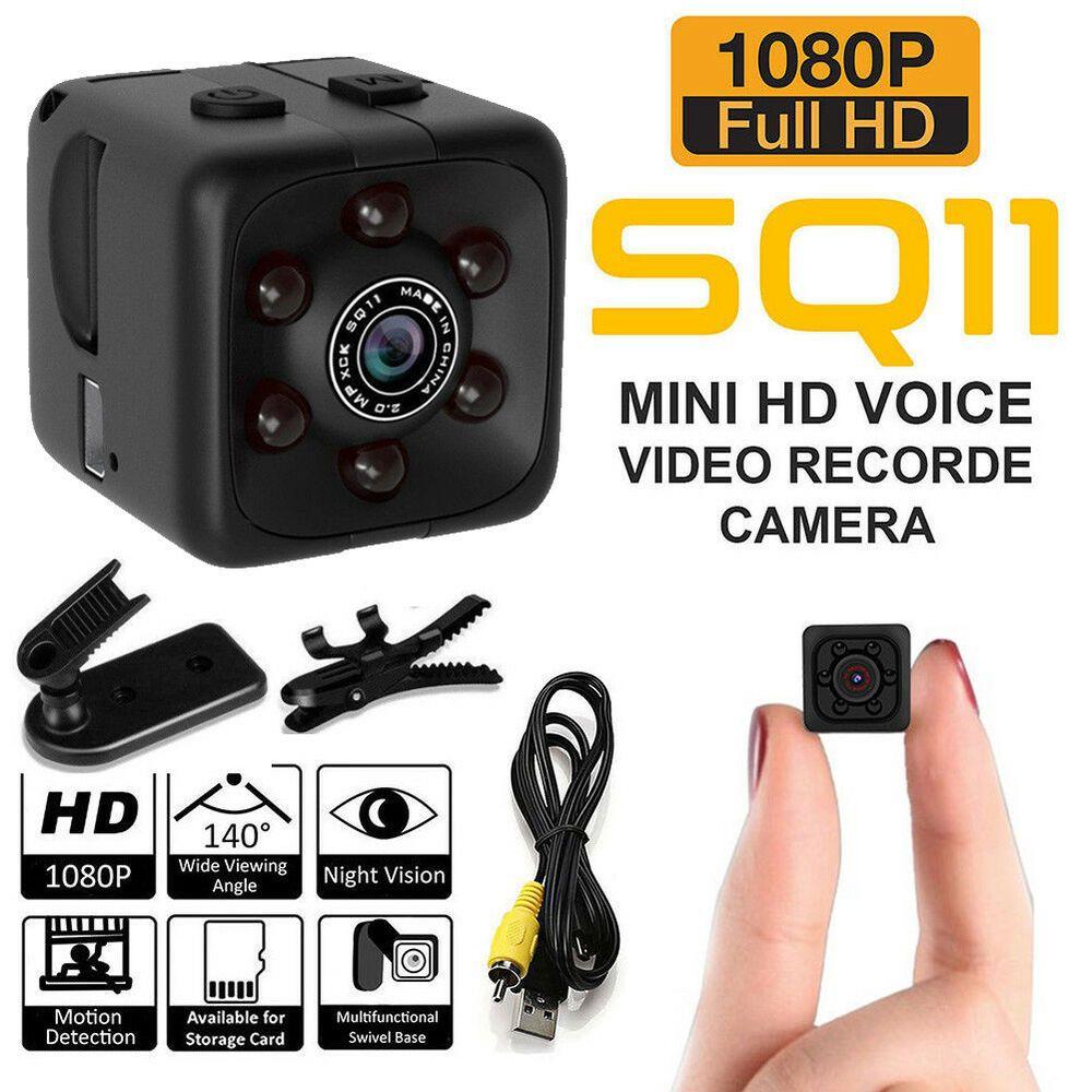 SQ11 HD 1080P Mini Car Hidden DVR Camera Spy Dash Cam IR Night Vision USB 2.0