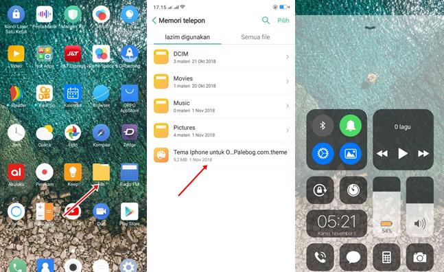 Pasang Tema Oppo Dan Resrtart Iphone Aplikasi Ios Ios