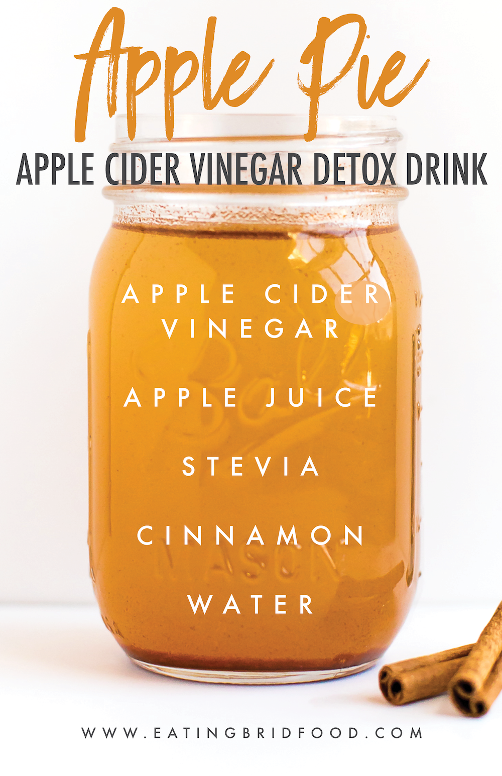 Apple Cider Vinegar Drink Recipe Apple cider vinegar