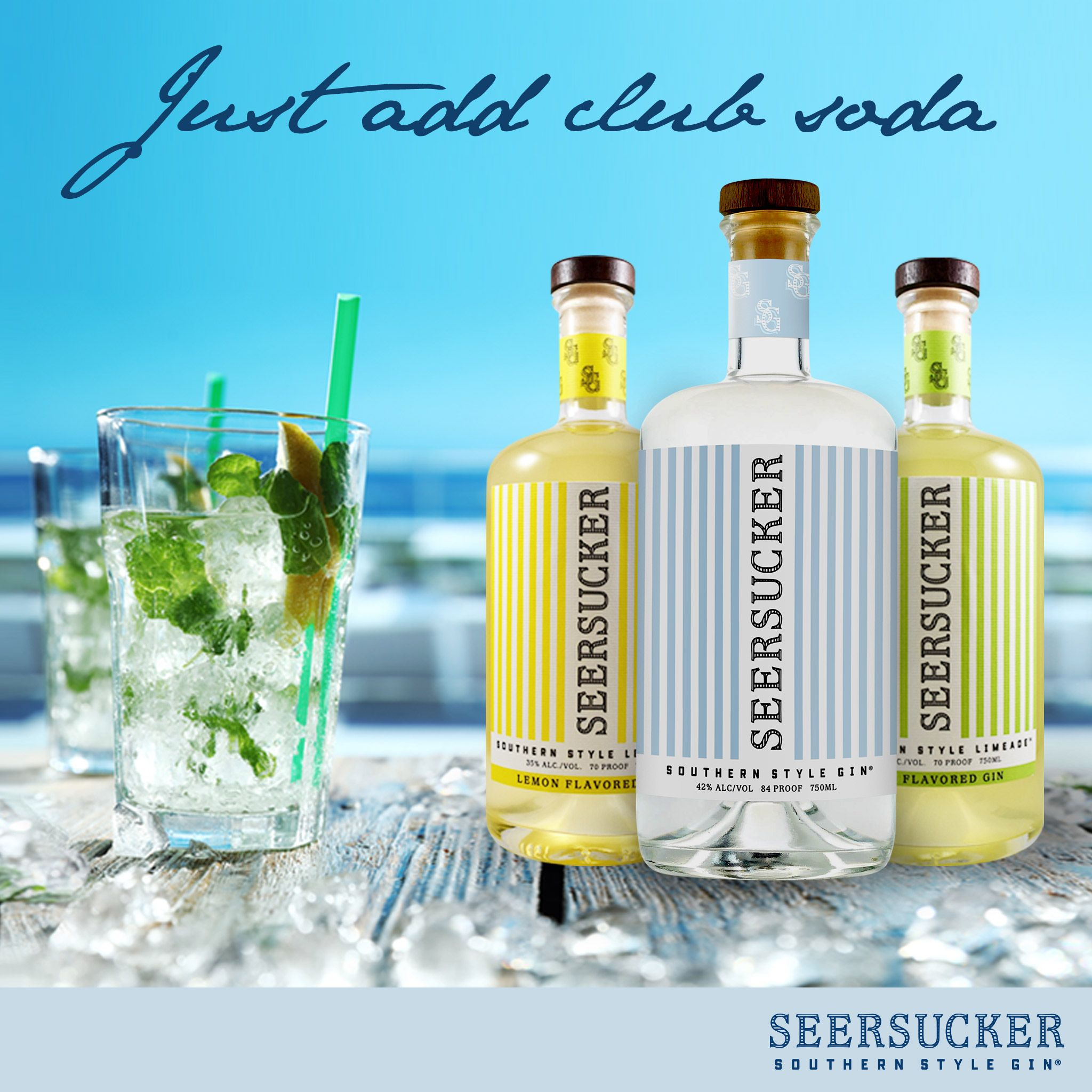 All You Need Is A Little Lime And Club Soda This Drink S So Simple It Could Make Itself Southernstylegin Cocktails Gin