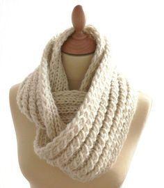tricoter un snood tuto