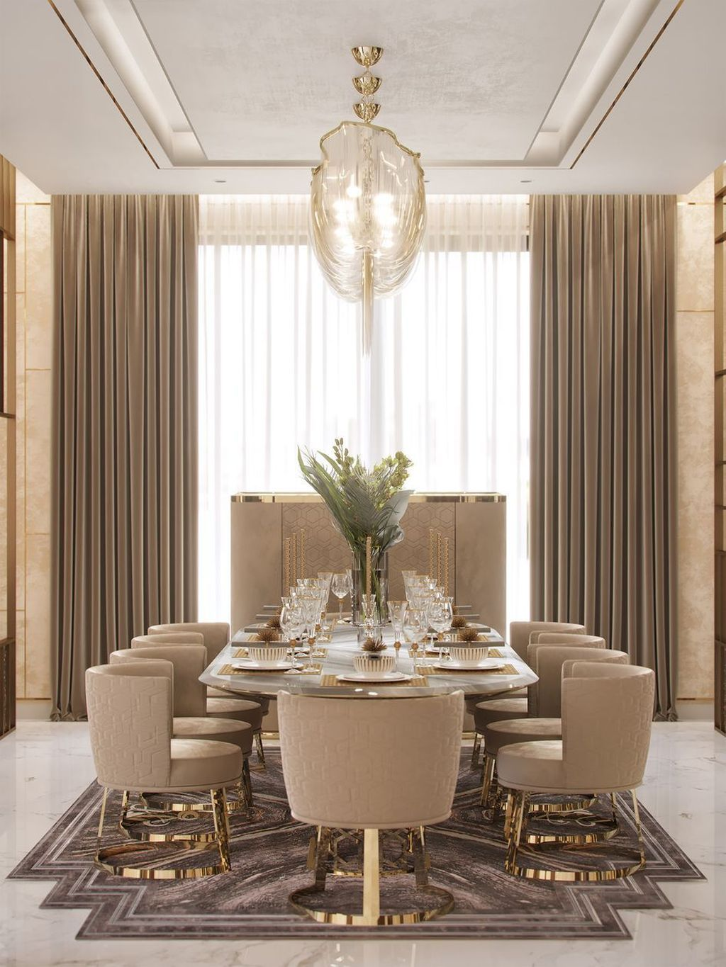 30 Awesome Dining Room Designs Ideas In Industrial Style Trenduhome Dining Room Interiors Elegant Dining Room Luxury Dining Room