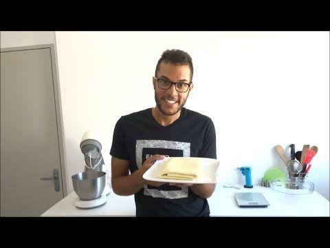 Pâte feuilletée au robot, facile et rapide [TUTO] (English subtitles available) simple puff pastry #patefeuilleteerapide