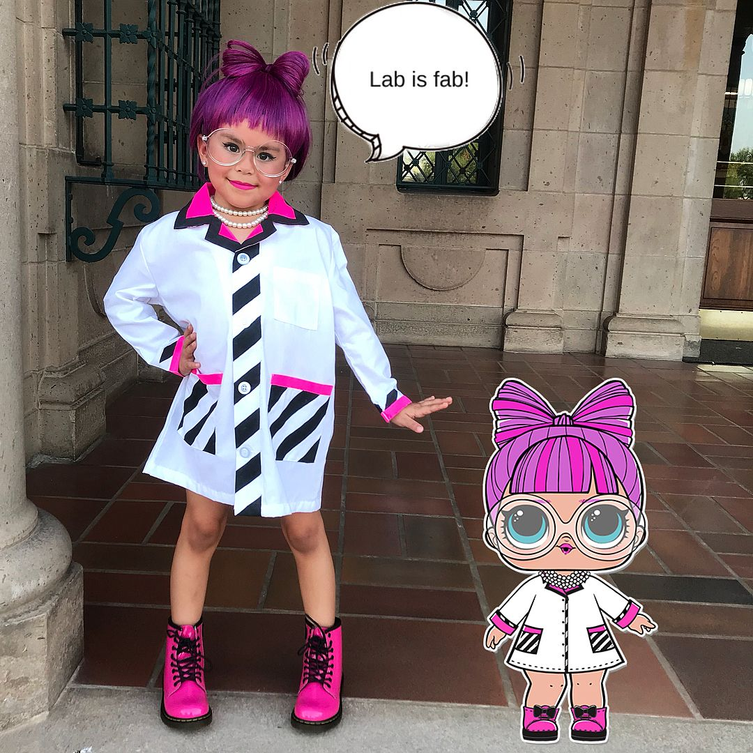 Oxygenmagnesium Omg How Adorable Is Lolsurprise P H D B B Lolsurprise Lolsurpris Diy Costumes Kids Halloween Costumes For Girls Halloween Costumes For Kids