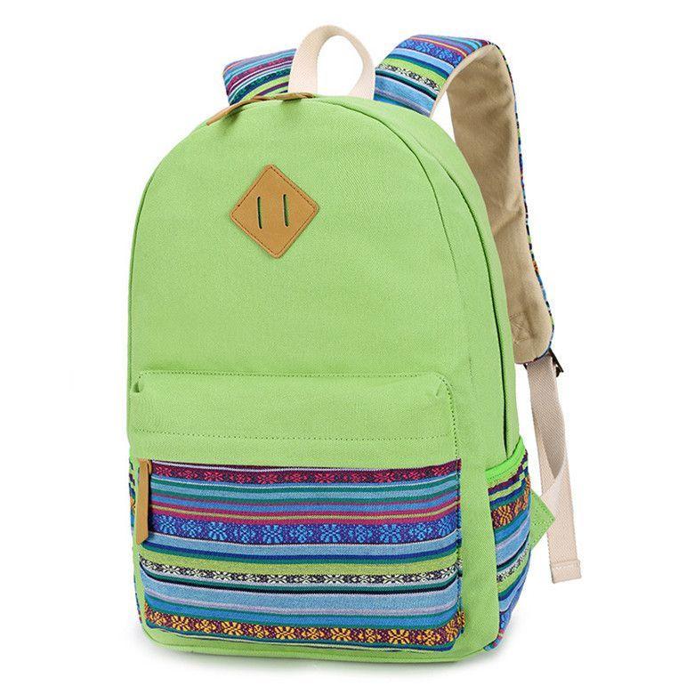 3e4d0031deaf SUNBORLS Brand Canvas Printing Backpack Women Cute School Backpacks for Teenage  Girls Vintage Laptop Bag Rucksack Bagpack Female