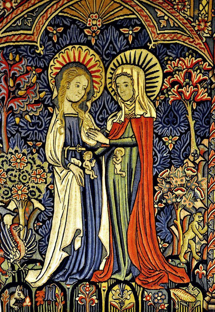 Image result for advent medieval visitation