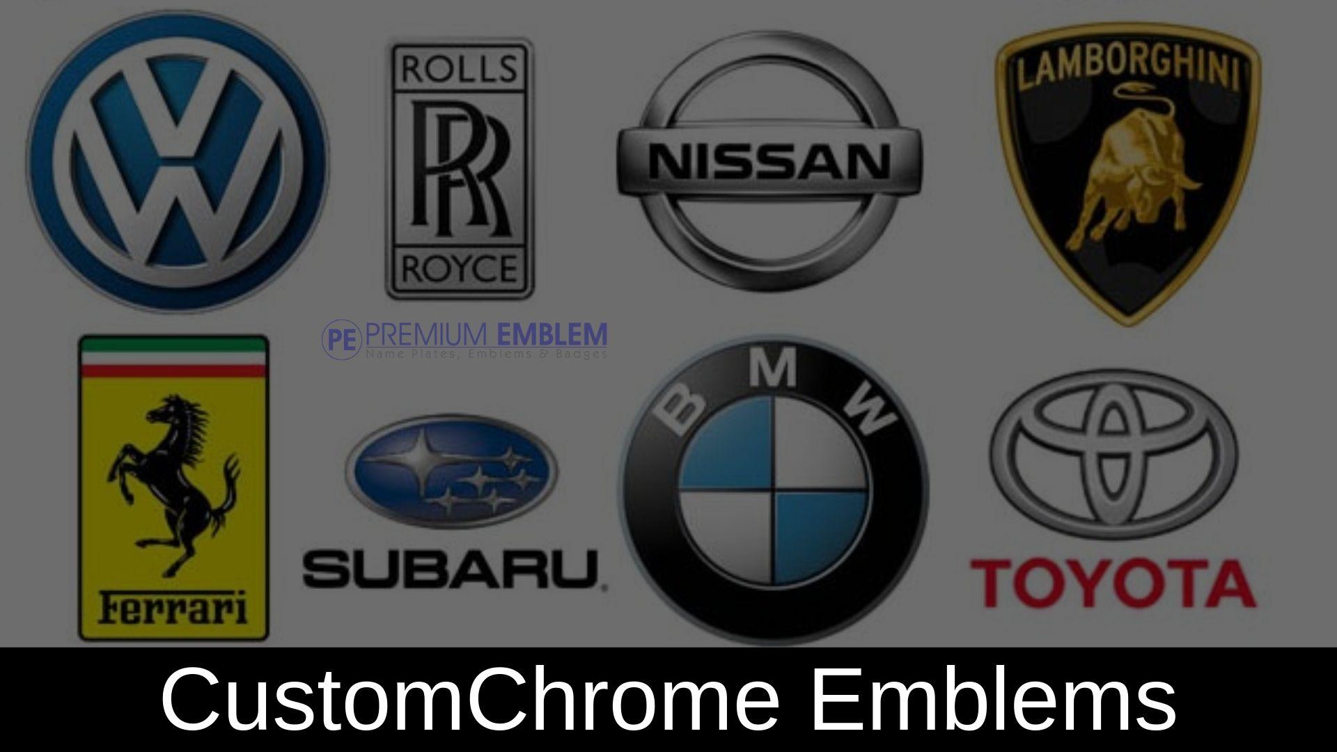 Should A Car Dealership Get Custom Chrome Emblems For Its Brand Custom Car Emblems Emblems Car Dealership