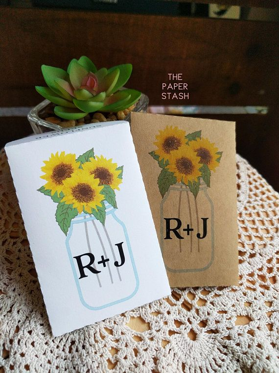 sunflowers printable seed packets pdf template wedding favours bridal shower favors envelope