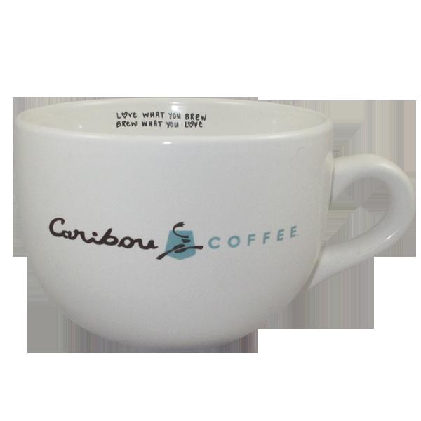 Auch bei Caribou gibts Becher, die das US Coffeehouse