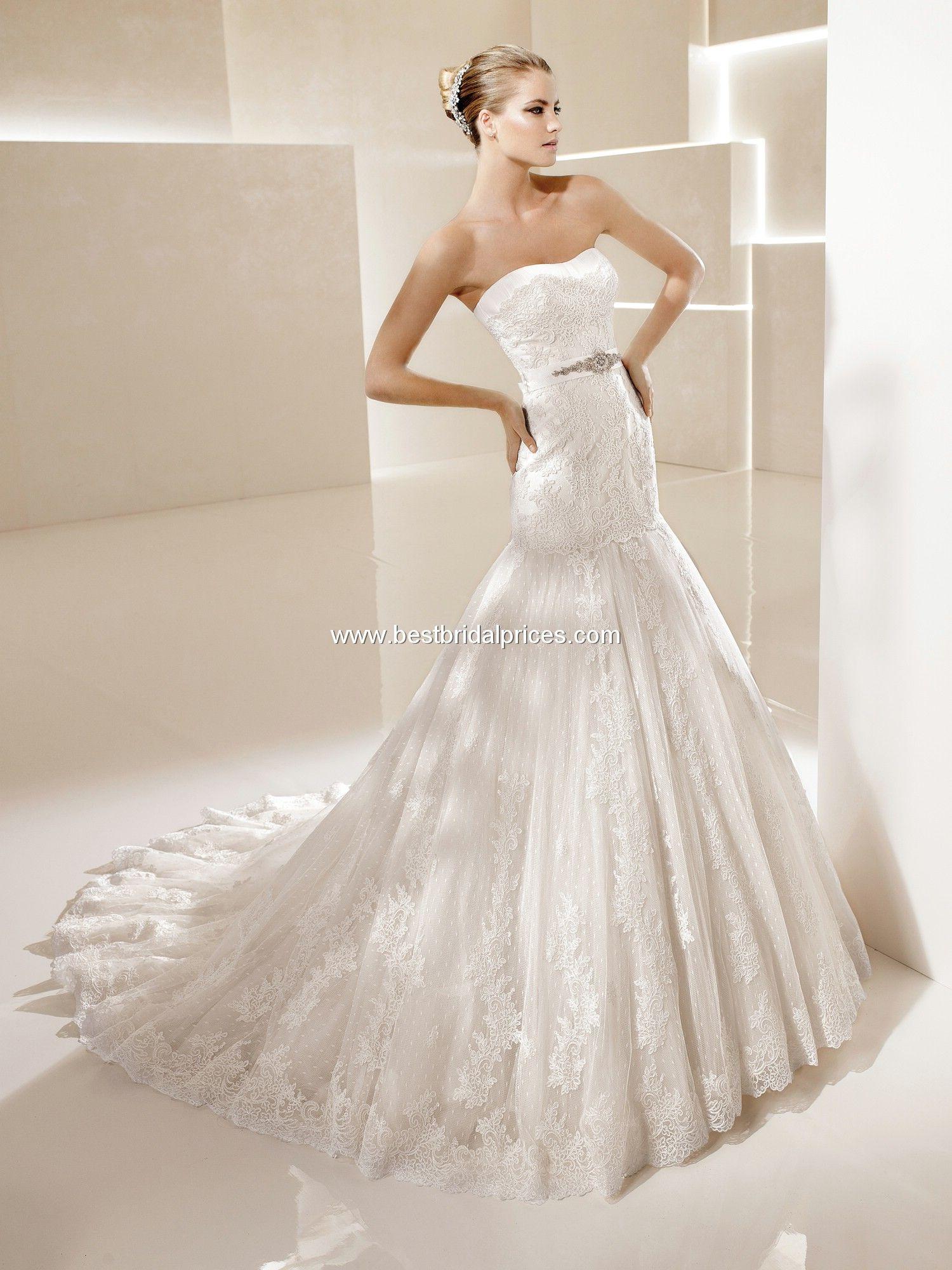 Girls wedding dress  La Sposa Wedding Dresses  Style Sena  Wedding Stuff  Pinterest