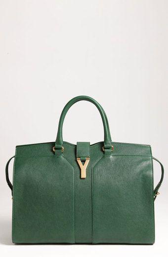 YSL - Cabas Chyc Large Leather Satchel 2150.00   Bags   Designer ... 61fa7b4039