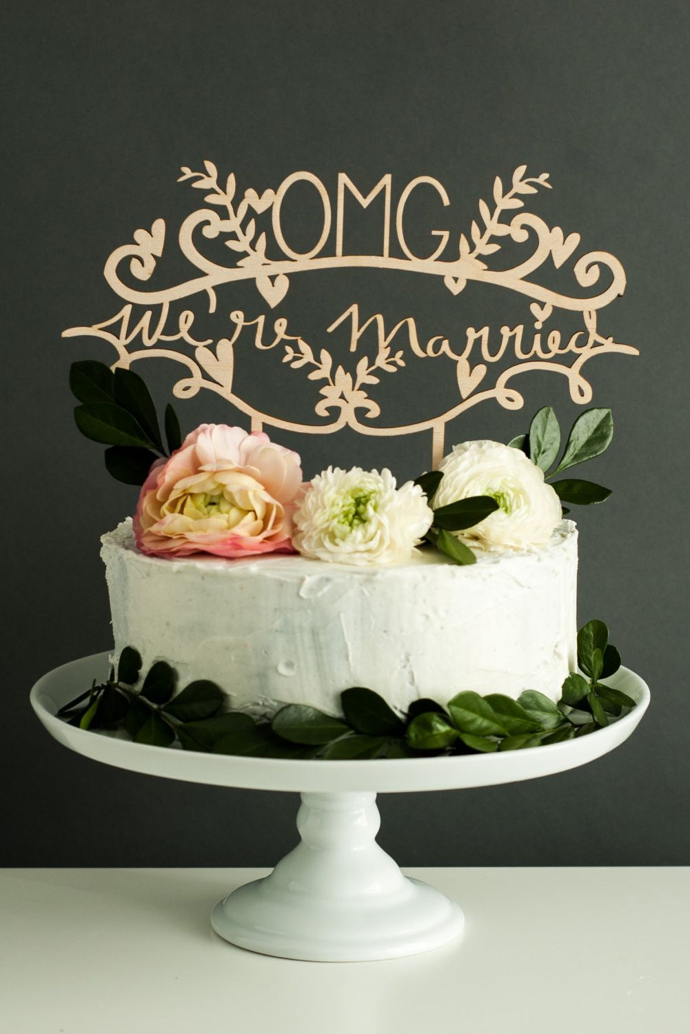 Top the cake with a little truth-talking typography