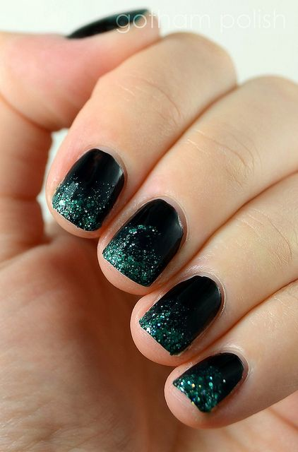 Deborah Lippmann Wicked One Short Day Nail Art Nails Pinterest