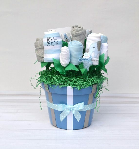 Elephant baby gift elephant baby shower corporate baby gift group baby layette gift basket baby shower gift set by babyblossomco negle Image collections