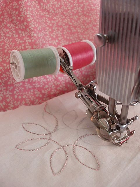 SINGER TwoThread Embroidery Attachment 40 Products I Love Amazing Embroidery Attachment For Sewing Machine