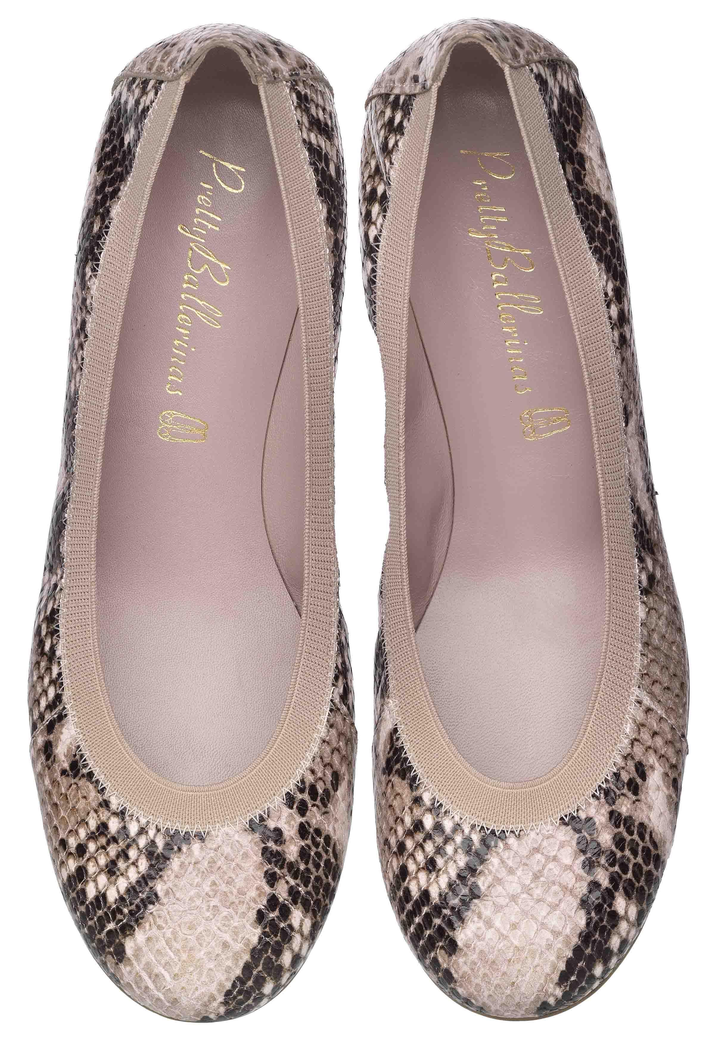 detailed look b2daa fff26 Shirley Snake Printed Leather via Pretty Ballerinas. | soles ...