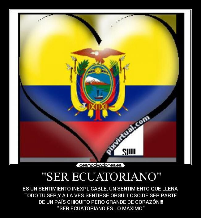 Imagen De Http Img Desmotivaciones Es 201306 Eresvaliosaparami Jpg Ecuador Flag Cayambe Ecuador