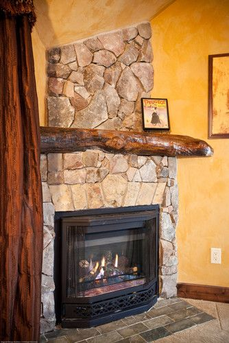 A View Of The Entire Live Edge Fireplace Mantel Live Edge Mantels