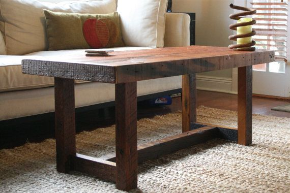 The Rustic Pi Coffee Table Made From New Orleans By DoormanDesigns, $500.00