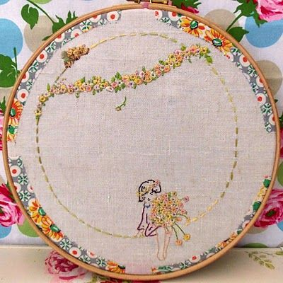 Beautiful colors and stitches.