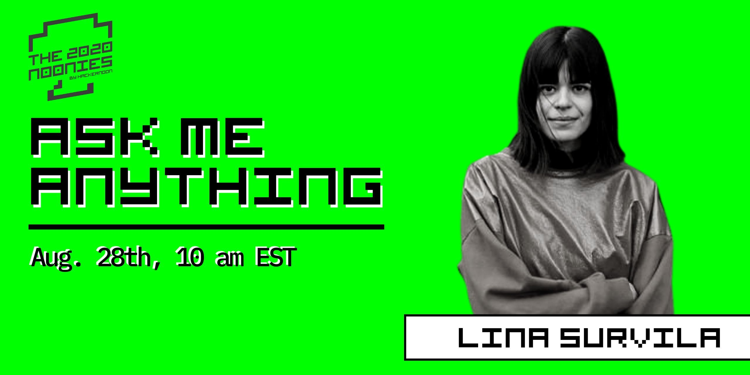 AMA with Lina Survila, Women in Tech awards nominee in