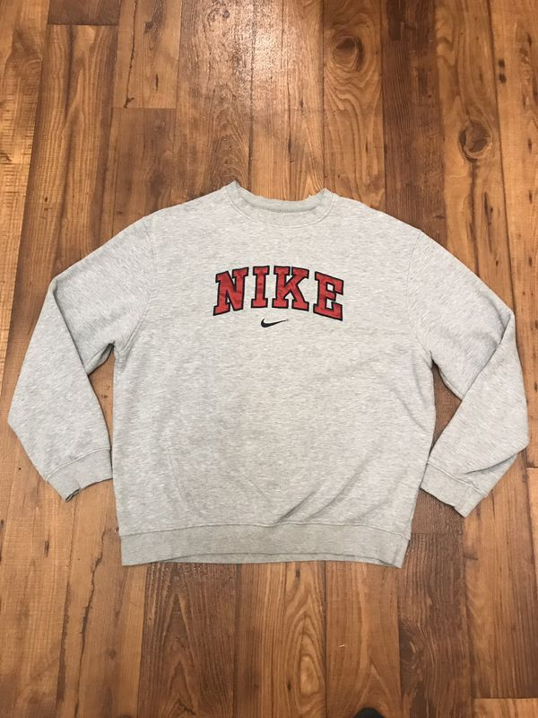 Nike Sweatshirt Beige Large : Vendor: NikeType: Sweatshirts