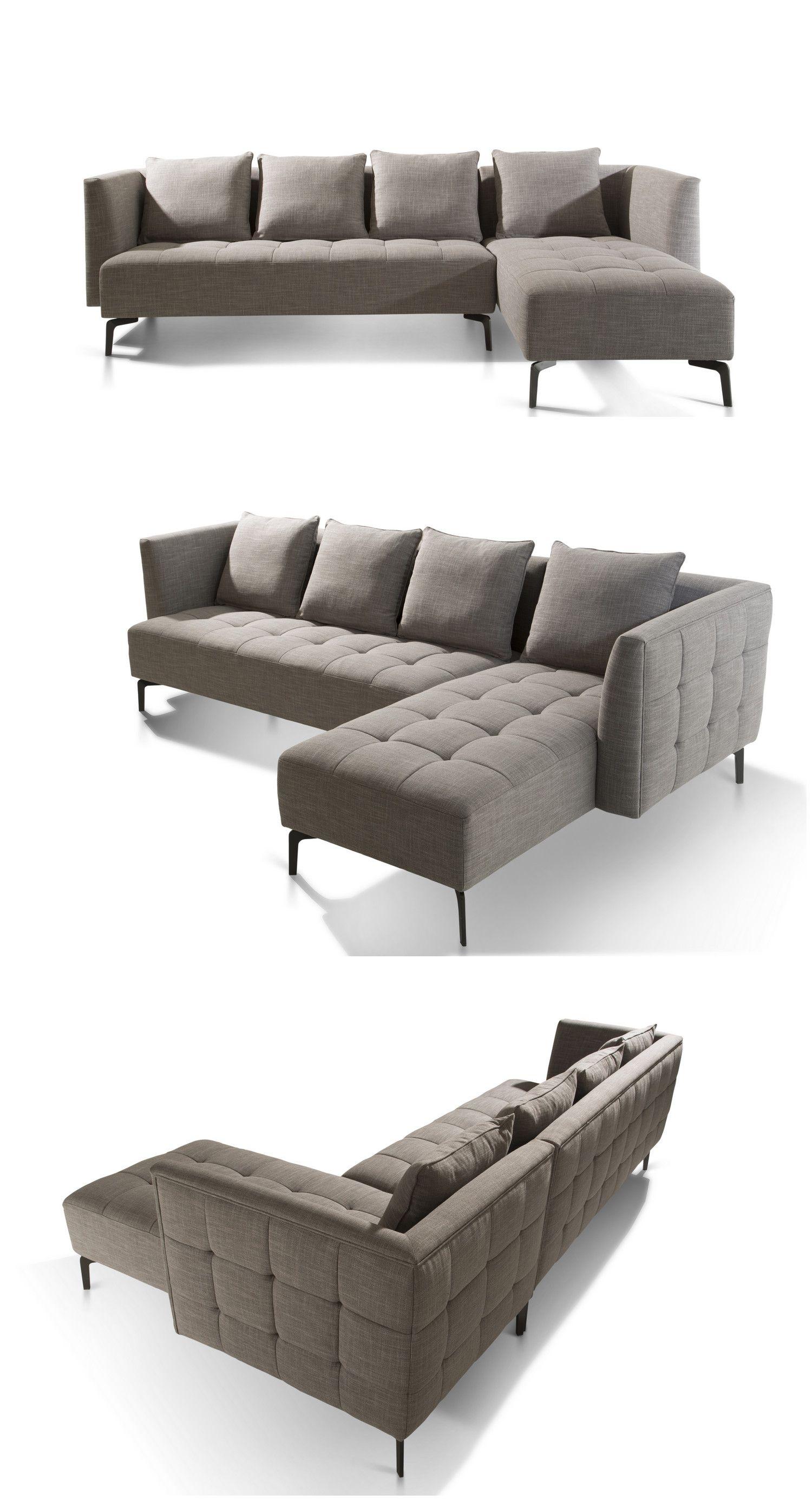 Sofa China Supplier Metal Legs Tufted Box Simple Sofa Set Living Room Sofa Design Corner Sofa Living Room Sofa Layout
