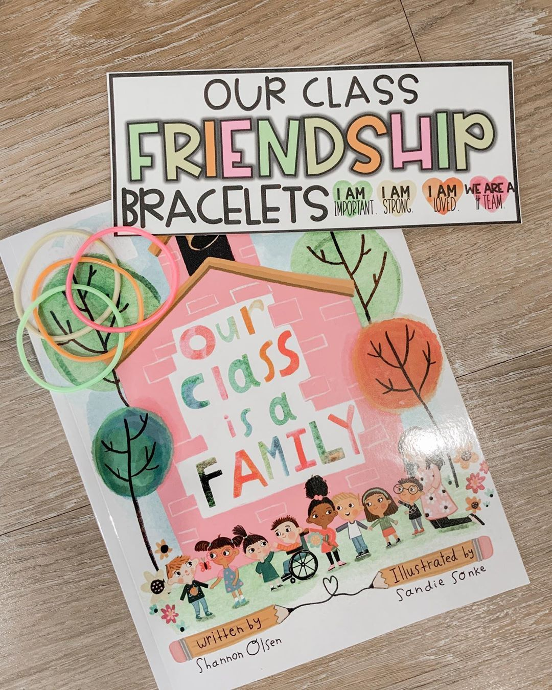 "That Teacher Taylor on Instagram: ""Our class is a family. ❤️ Today on Zoom we read ""Our Class Is a Family"". My students loved this amazing story and thought it was too cool…"""