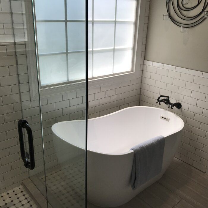 54 X 29 Freestanding Soaking Bathtub In 2020 Master Bathroom Renovation Free Standing Bath Tub Bathroom Renovations