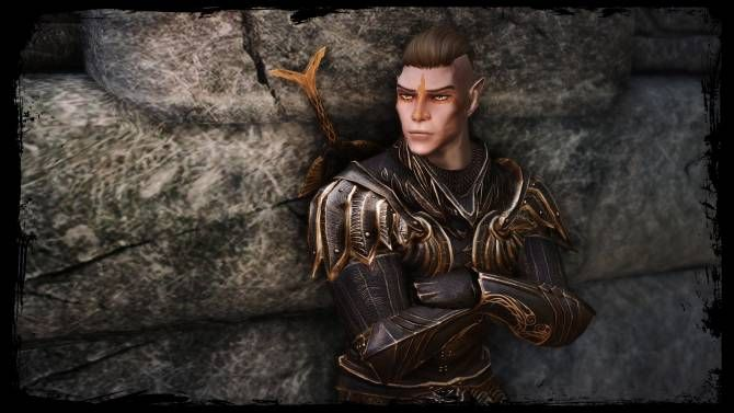 Rimron Adael standalone Altmer Male follower | Skyrim Mods | High
